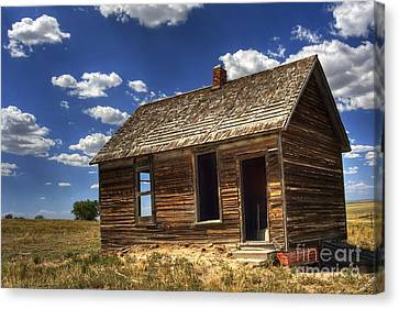 Colorado Homestead Canvas Print by Pete Hellmann