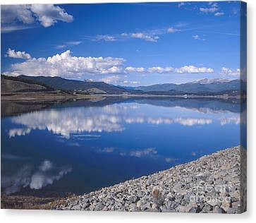 Colorado Lake Reflection Canvas Print