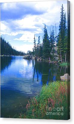 Colorado Lake Canvas Print