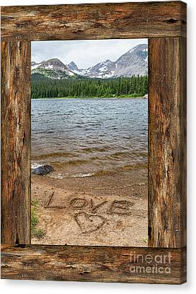 Colorado Love Window  Canvas Print by James BO Insogna