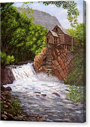 Colorado Mill Canvas Print by Judy Filarecki