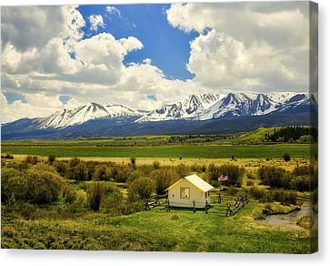 Colorado Mountain Vista Canvas Print by L O C