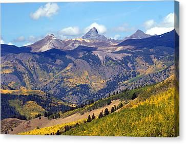 Colorado Mountains 1 Canvas Print by Marty Koch
