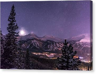 Colorado Night Canvas Print