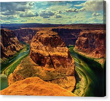 Colorado River At Horseshoe Bend Canvas Print