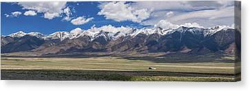 Colorado San De Cristo Mountains Panorama View Canvas Print by James BO Insogna