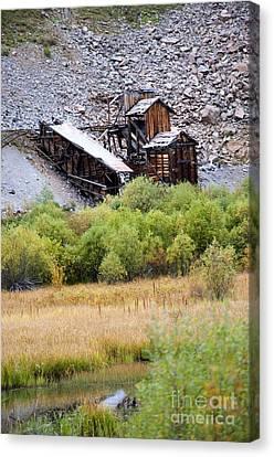 Colorado Silver Mine  Canvas Print