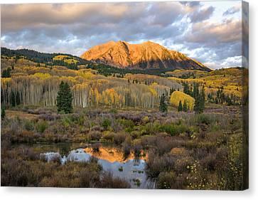 Colorado Sunrise Canvas Print by Phyllis Peterson