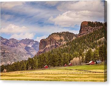Colorado Western Landscape Canvas Print by James BO  Insogna