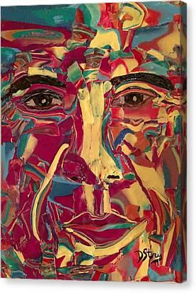 Colored Man Canvas Print