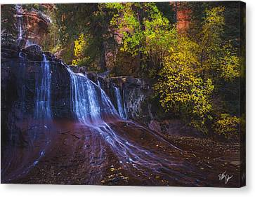 Canvas Print - Colorfalls by Peter Coskun
