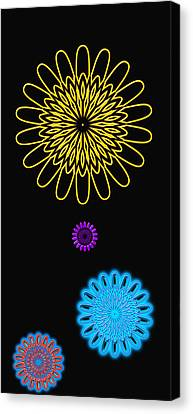 Colorful Abstract 3 Canvas Print