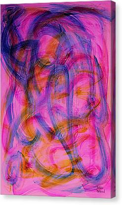Colorful Abstract Canvas Print by Natalie Holland