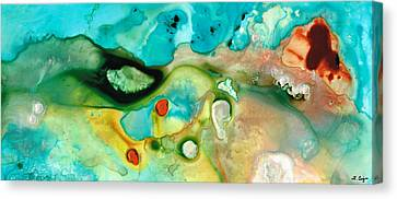 Colorful Art - Soul Shine - Sharon Cummings Canvas Print by Sharon Cummings