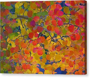 Colorful Aspen Canvas Print