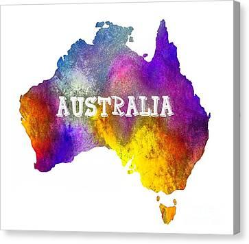 Colorful Australia Canvas Print by Kaye Menner