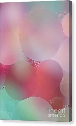 Colorful Bubbles 2 Canvas Print by Elena Nosyreva
