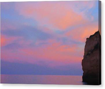 Colorful Clouds Canvas Print by Nat Air Craft