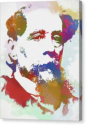 Colorful Dickens Canvas Print by Dan Sproul