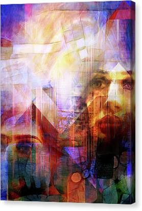 Colorful Drama Vision Canvas Print by Lutz Baar