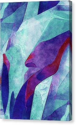 Colorful Form Canvas Print by Jack Zulli