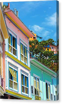 Colorful Guayaquil Ecuador Canvas Print by Jess Kraft