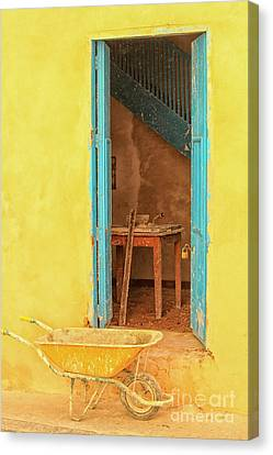 Canvas Print - Colorful House  by Patricia Hofmeester