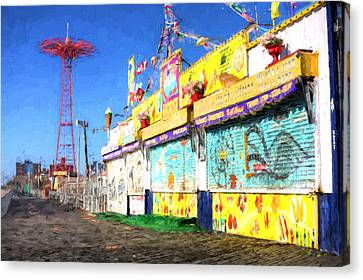 Colorful Canvas Print by JC Findley
