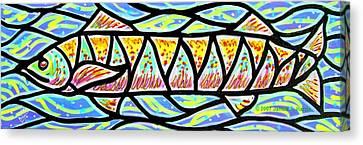 Colorful Longfish Canvas Print by Jim Harris