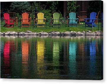 Colorful  Canvas Print by Martina Thompson