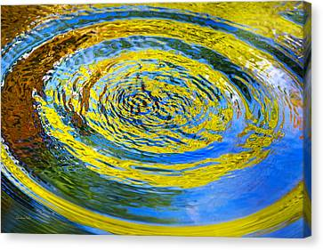 Colorful Nature Abstract Canvas Print by Christina Rollo
