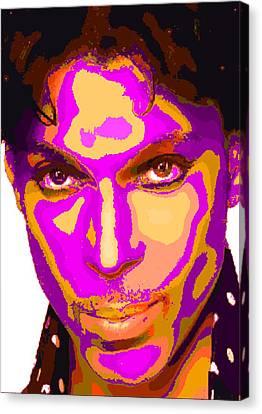 Colorful Prince - Purple Canvas Print