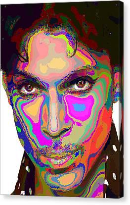 Colorful Prince Canvas Print