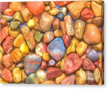 Colorful Rocks Canvas Print by Veikko Suikkanen
