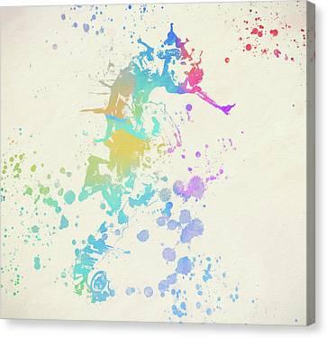 Colorful Seahorse Canvas Print