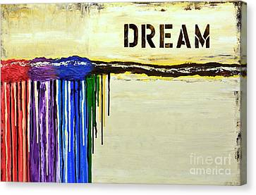 Colorful Splash Canvas Print by Mariana Stauffer
