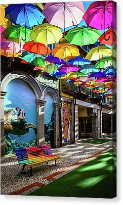 Colorful Street II Canvas Print by Marco Oliveira