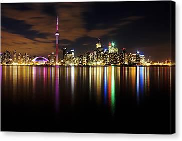 Colorful Toronto Canvas Print by Matt  Trimble