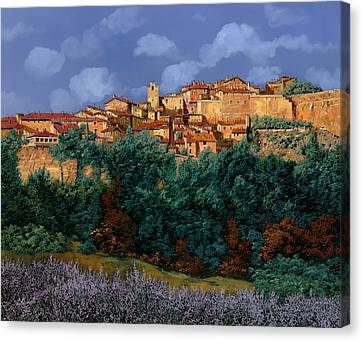 colori di Provenza Canvas Print by Guido Borelli