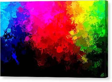 Colors Above All Others Canvas Print