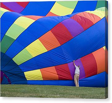 Canvas Print featuring the photograph Colors by Alan Raasch