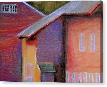 Colors And Shadows Canvas Print by Dona Mara