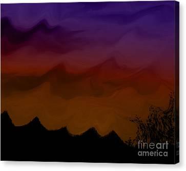 Colors At Dusk Canvas Print