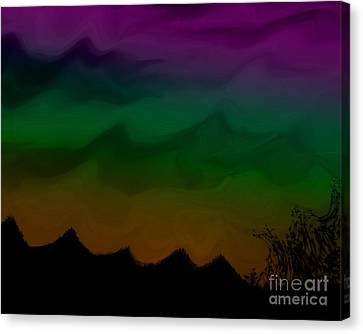 Colors At Dusk2 Canvas Print