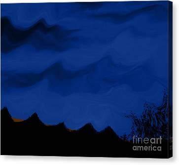 Colors At Dusk3 Canvas Print