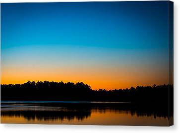 Colors At Sunset Canvas Print by Shelby  Young