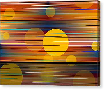 Colors Of A Sunset Canvas Print