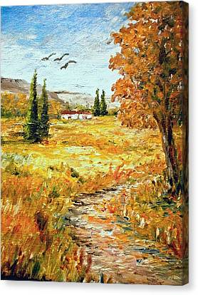Colors Of Autumn 2 Canvas Print