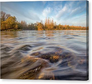 Canvas Print featuring the photograph Colors Of Autumn by Davorin Mance