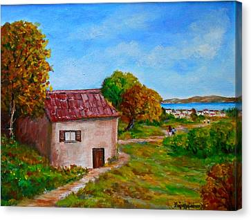 Colors Of Autumn1 Canvas Print by Constantinos Charalampopoulos